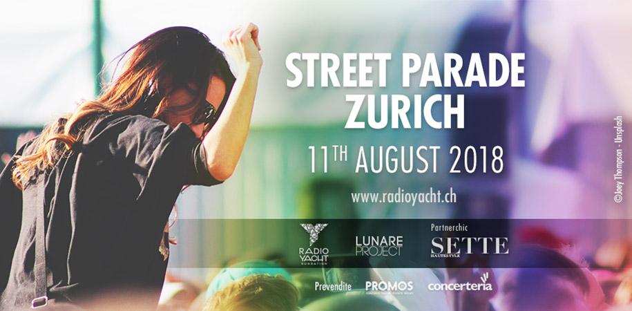 Street Parade Zurich - August 2018