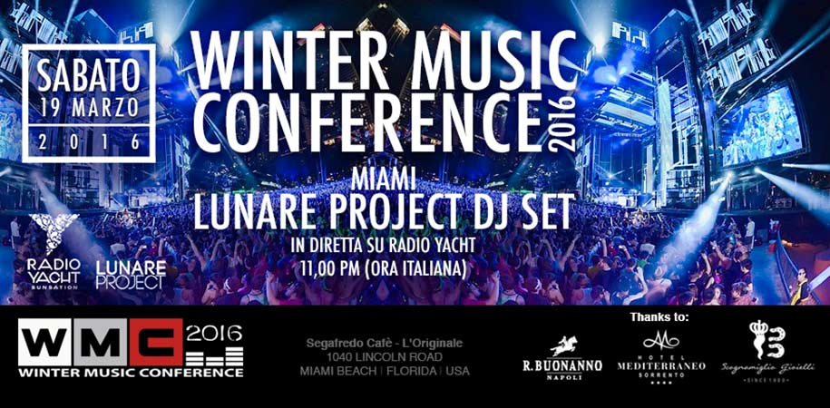 WMC - Winter Music Conference Miami 2016