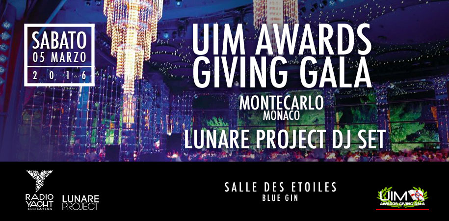 UIM Awards Giving Gala Montecarlo Monaco 2016