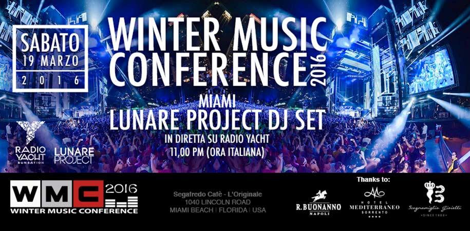 WMC - Winter Music Conference Miami 2016